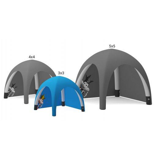 Oppblåsbart telt 3x3