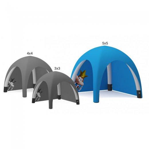 Oppblåsbart telt 5x5