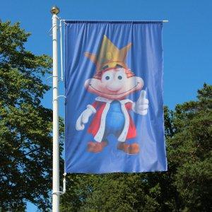 Windtracker med flagg 150x240