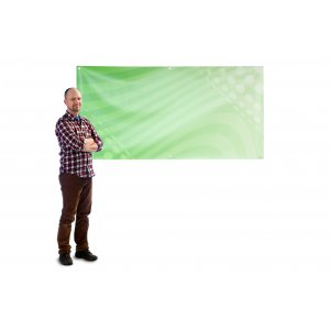 Banner 2x1m PVC
