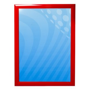 Plakatramme rød 50x70
