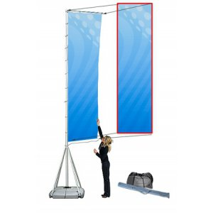 Mega Outdoor Flag end flagg