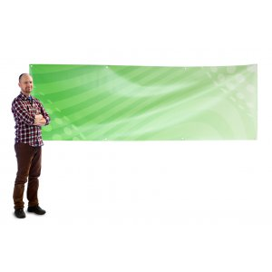 Banner 3x1 m PVC