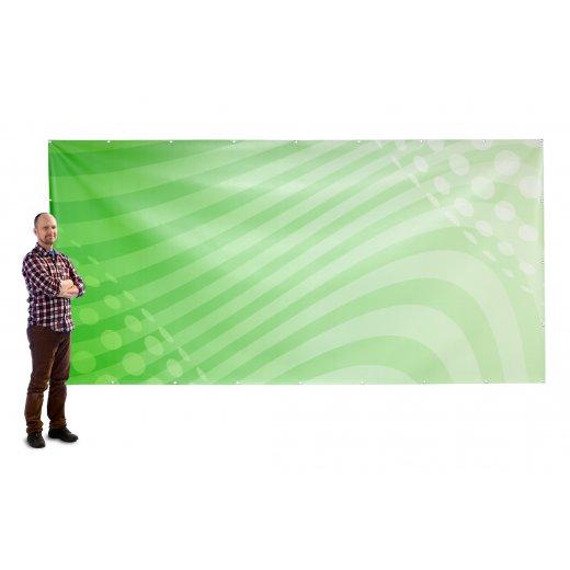 Banner 4x2m pvc