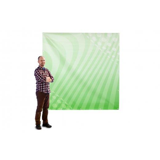 Banner 2x2m pvc