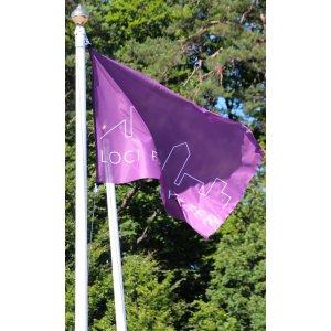 Flagg med klips 150x100